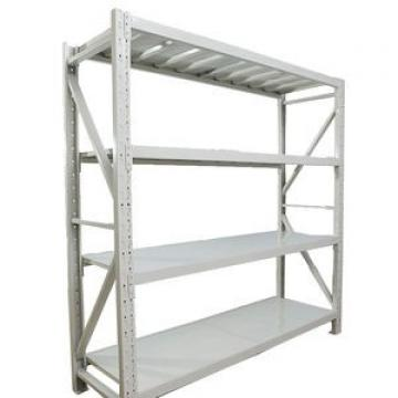Metal stainless slotted punched angle iron industrial shelving
