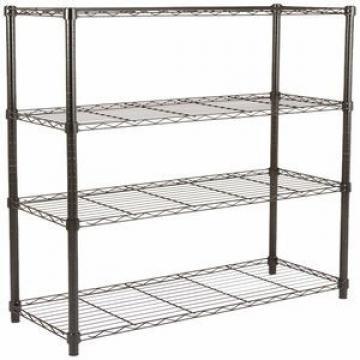 New Design Multifunctional Space Wire Metal Shelving Kitchen Hanging Rack