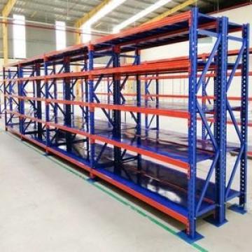 blue metal Adjustable boltless 4-shelf warehouse shelving unit garage storage rack light duty 100kg/layer