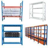 Heavy duty metal wood storage shelving racks / shelving unit / cheap goods shelf