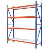 GTY custom boltless metal low load unit shelving bays light duty warehouse pallet shelving rack