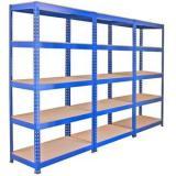 Bulk Rack Warehouse Pallet Shelving Units With Steel Decking