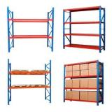 Heavy duty Metal Foldable Stacking Racks for Warehouse or Workshop Storage