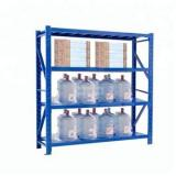 2 racking bays grey shelves 180*90*40cm 5 tiers boltless metal shelves Industrial Racking Garage Storage Shelves
