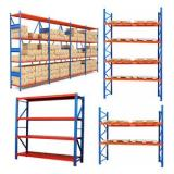 Good Quality Gravity Roller Racking System Whalen 4 Tier Industrial Storage Rack
